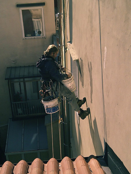 Servizi icaro trieste - Rasatura muro esterno ...